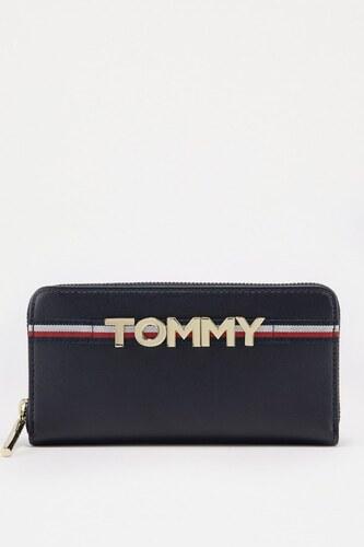 Peňaženka - TOMMY HILFIGER CORPORATE HIGHLIGHT modrá - Glami.sk 2a467f845ae