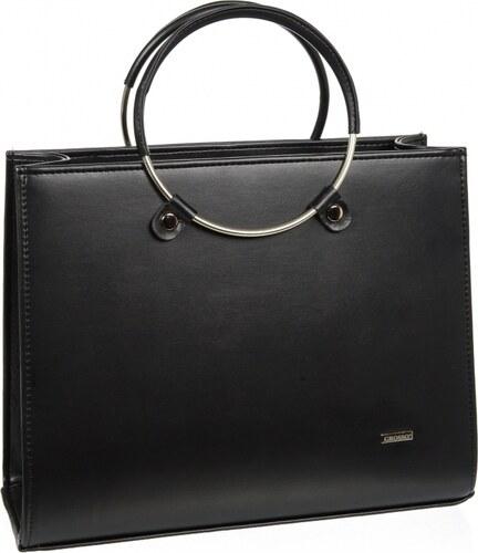 f41ad81a41 Čierna moderná matná elegantná dámska kabelka S730 GROSSO - Glami.sk
