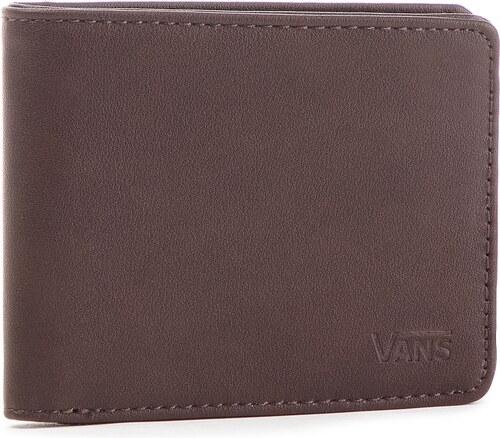 bf4683df054a Nagy férfi pénztárca VANS - Drop V Bifold W WN0A31J8DRB Dark Brown 454