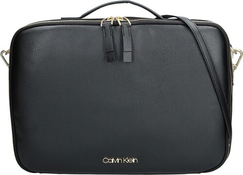 Dámská taška na notebook Calvin Klein Eleonor - černá - Glami.cz 789cfa127c