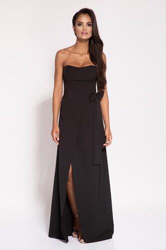 7f6a094628fd Dursi Dlhé korzetové šaty Lorica - čierne - Glami.sk