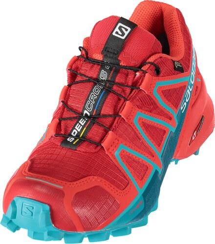 Dámské běžecké boty SALOMON SPEEDCROSS 4 GTX(R) W L39855100 BARBADOS CHERRY  POPPY eeba6d504d