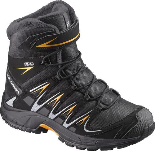 Dětské zimní boty SALOMON XA PRO 3D WINTER TS CSWP K BLACK INDIA INK ... bfbe344a15