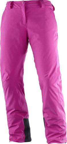 Dámské lyžařské kalhoty SALOMON ICEMANIA PANT W L39741300 ROSE VIOLET 799c1c0cce