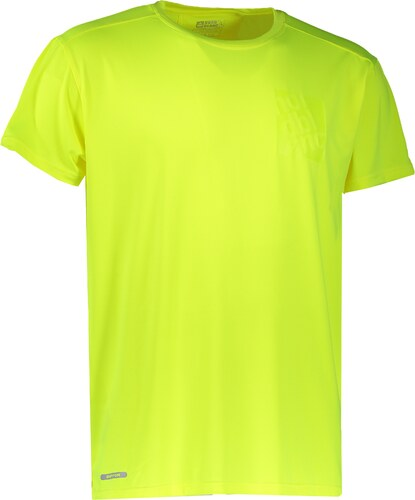 Nové Pánské sportovní triko NORDBLANC SQUARE NBFMF6511 BEZPEČNÁ ŽLUTÁ be2173943e