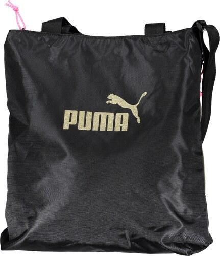 879c13a338 Dámská sportovní kabelka PUMA WMN CORE SHOPPER SEASONAL 07539901 PUMA BLACK