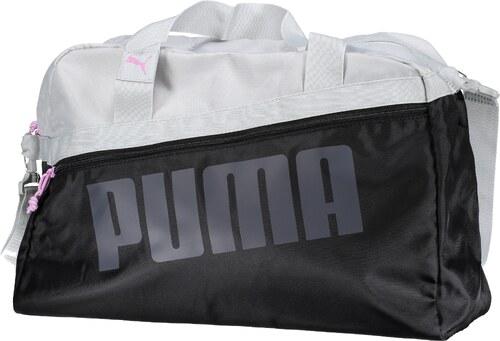 Dámská sportovní taška PUMA DANCER GRIP BAG 07546401 PUMA BLACK GRAY VIOLET 8505ad51ebd
