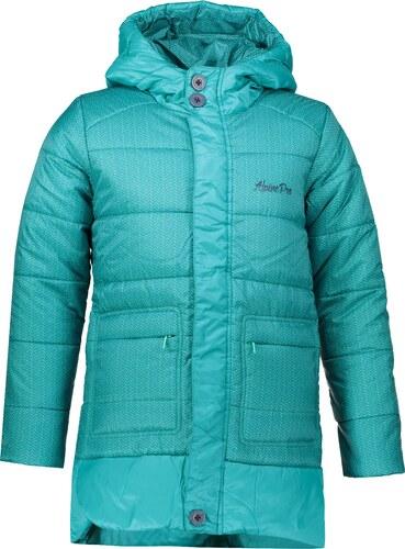 Dívčí zimní kabát ALPINE PRO OMEGO KCTM009 ZELENÁ - Glami.cz 01e05da483