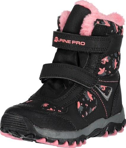 Dětské zimní boty ALPINE PRO WANO KBTM169 ČERNÁ - Glami.cz f9995719c8