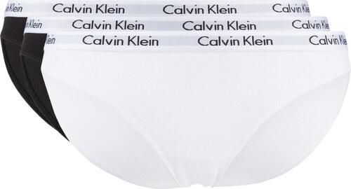 Női Calvin Klein 3 db-os Bugyi szett Fekete Fehér - Glami.hu 93cddc57b7