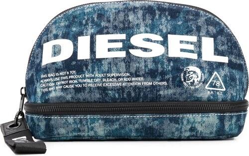 Diesel logo print wash bag - Blue - Glami.hu 834cac1186