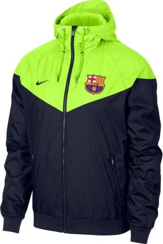 FC Barcelona pánská bunda s kapucí 18 windrunner obsidian Nike 16488 ... 6c9e46b2312