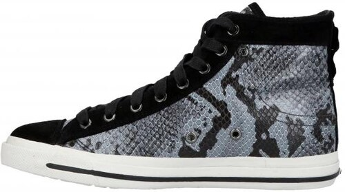 38ac2159df Kecky Diesel Exposure iv Low Snake Print Womens Leather sneakers ...