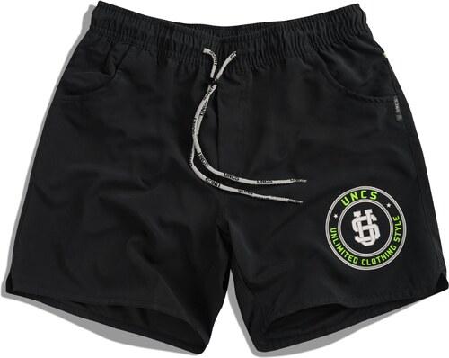 05d8287a1f1 UNCS Pánské koupací šortky Sarasota BLACK - Glami.cz