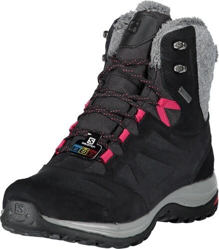 0ff08e4b99b Dámské zimní boty SALOMON ELLIPSE WINTER GTX L40469900 BLACK PHANTOM CERISE.