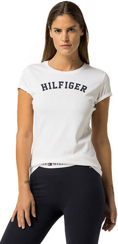 Tommy Hilfiger Dámske tričko s krátkym rukávom Cotton Icon ic Logo SS Tee  Print UW0UW00091 - 9cb8e6d99ac