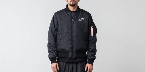 Nike Sportswear Down Fill Bomber Jacket Black - Glami.cz 2d94abd6eaf