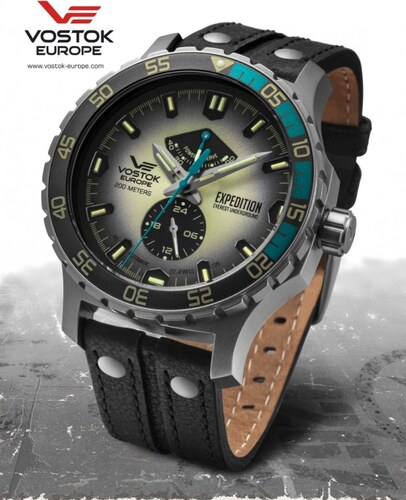 fb3224c42 -10% Pánske hodinky Vostok - Europe EXPEDITION EVEREST UNDERGROUND  automatic line YN84/597A544