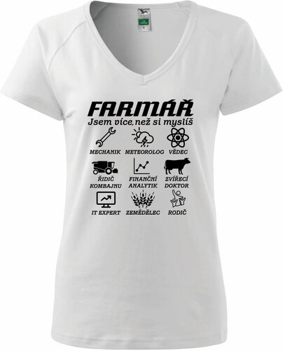 Myshirt.cz Farmář - Symboly - Tričko dámské Dream - Glami.cz cdfe3c047c