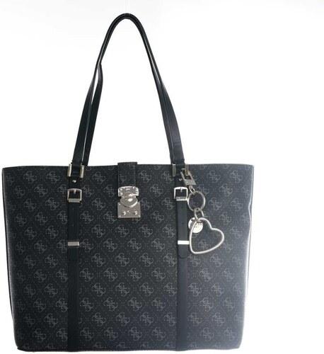 Guess dámská černá kabelka Joslyn se vzorem - Glami.sk ae701123f2