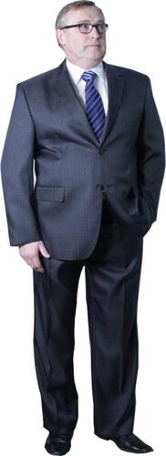 6141eae787e Nadměrný pánský oblek šedý 176 - 182 cm fa Vorite 160640 - Glami.sk
