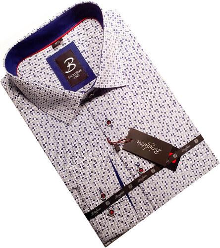 219139e72c00 Pánska košeľa dlhý rukáv s podšitým golierom Brighton 109996 - Glami.sk