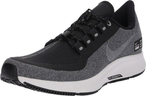 66e7a82a63b68 NIKE Běžecká obuv  Nike Air Zoom Pegasus 35 Shield  šedá   černá ...