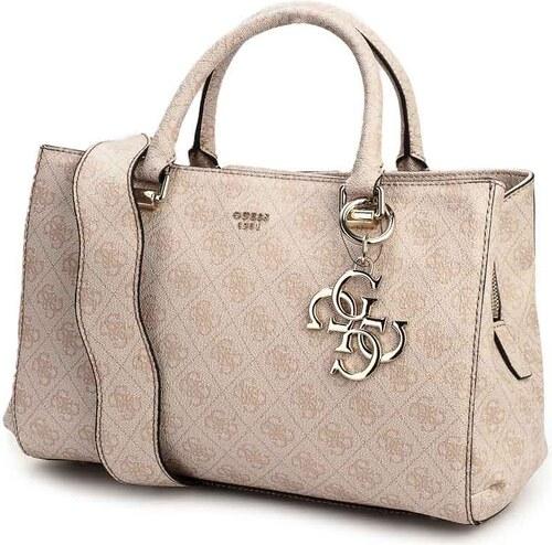 Guess STO dámská kabelka na rameno do ruky béžová HWSG6857070-STO ... 5b607bfb974