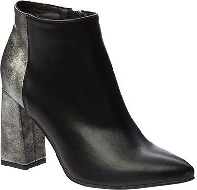 17bb5d41a98 Betsy Dámske členkové topánky 978011   05-02 black   dark silver ...