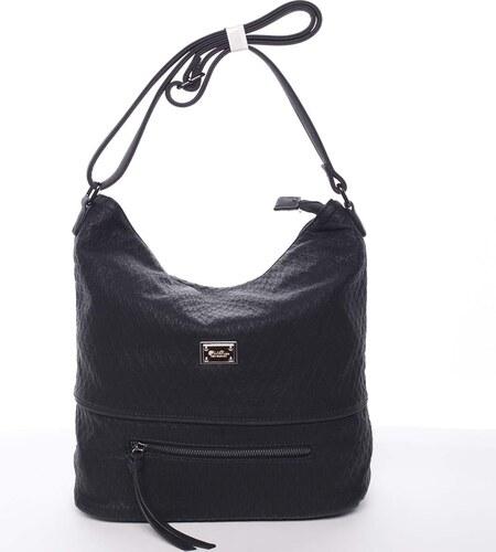 Elegantní a originální dámská crossbody kabelka černá - Silvia Rosa  Labrilla čierna badcb687f54