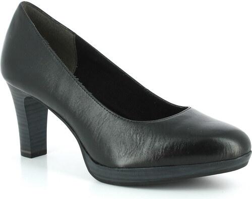 d0a2a57a38703 Dámske kožené topánky na vysokom podpätku Tamaris - Glami.sk
