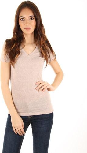 Tommy Hilfiger dámské béžové tričko - Glami.cz 158149c897