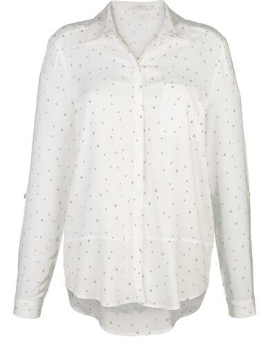 605ab6241c28 Košeľová blúzka Alba Moda Prírodná biela - Glami.sk