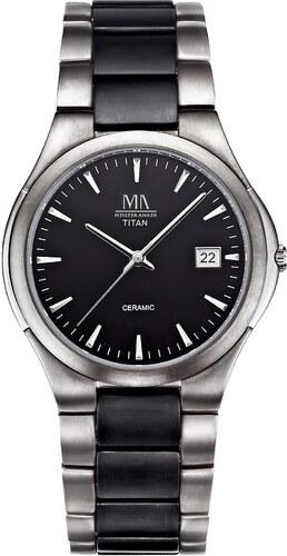 Quartz hodinky Meister Anker čierna titánová - Glami.sk 1433d159ef0