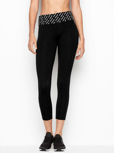 Victoria s Secret černobílé capri legíny - Glami.cz 13b3a1b62e