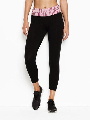 Victoria s Secret černorůžové capri legíny - Glami.cz 55a5ac1ee7