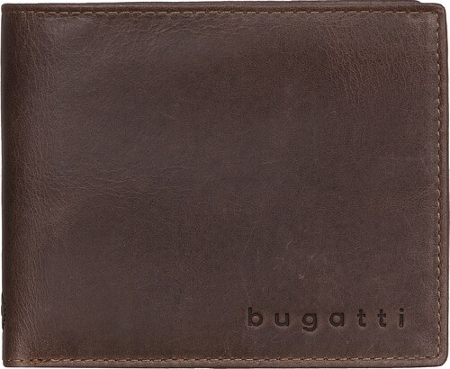 Bugatti Pánská kožená peněženka VOLO 49217802 hnědá - Glami.cz 99223462cd