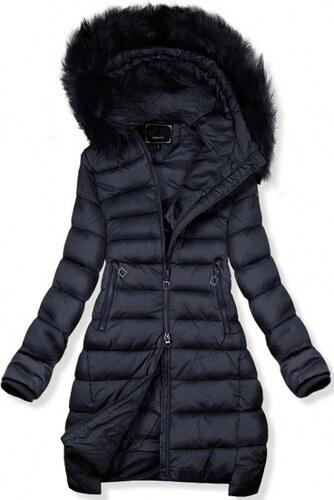 Trendovo Tmavomodrá predĺžená zimná bunda - Glami.sk ea815f99eb8
