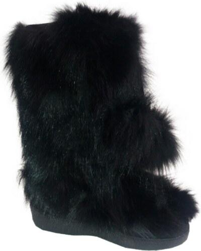 058d6c2a2f7 Dámské zimní boty DIAVOLEZZA BLACK FOX ZIP 651 - Glami.cz