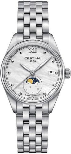 Nové Certina DS-8 Lady Moon Phase Quartz Chronometer (C.O.S.C.) C033.257.11. 70e138d21f