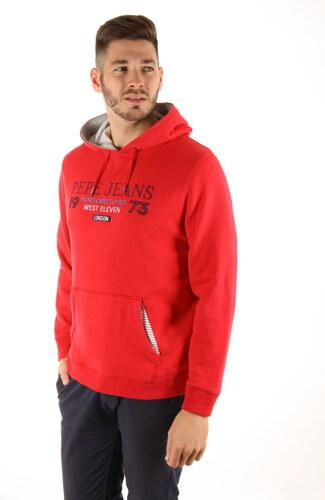 Pepe Jeans pánská červená mikina Vito - Glami.sk 2304d5047a