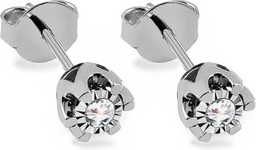 iZlato Forever Diamantové náušnice z bieleho zlata 0.180 ct Nadine 2 KU855AZ e1c6a18ed8d