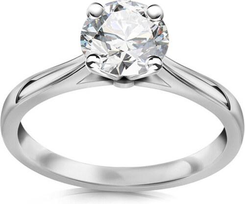 f23ece198 iZlato Forever Zásnubní prsten s diamantem 1.040 ct Estelle white CSBR53A