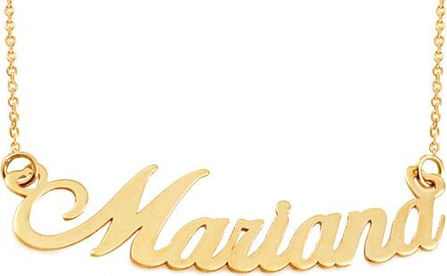 5225a4c7d iZlato Forever Zlatá retiazka s menom Mariana IZ10099 - Glami.sk