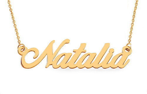 46e4fdb38 iZlato Forever Zlatá retiazka s menom Natalia IZ7886 - Glami.sk