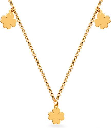 327a1fc77 iZlato Forever Zlatý náhrdelník Celebrity čtyřlístky IZ12053N - Glami.cz