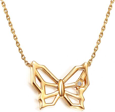 iZlato Forever Zlatý náhrdelník s diamantem 0 9e6ef01fa0