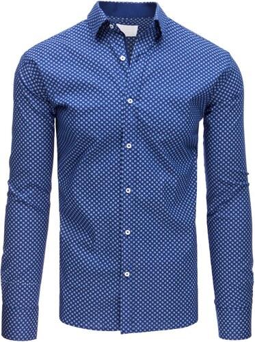 4d22172debca Buďchlap Elegantná SLIM FIT košeľa modrá - Glami.sk