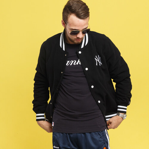 New Era Varsity Jacket NY čierna - Glami.sk bcb9968550