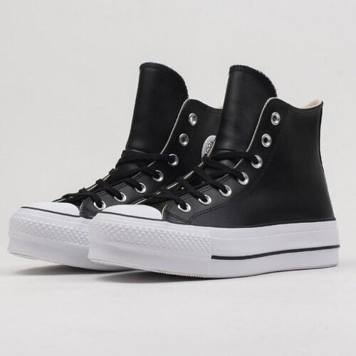 Converse Chuck Taylor All Star Lift Clean Hi black   black   white ... 15493ea90f